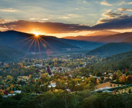 Bright township (Photo: Brendan Holland @ BrightMystic)
