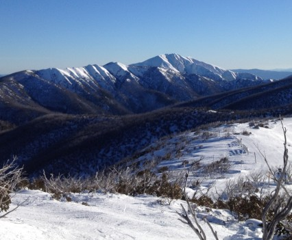 Mount Feathertop in Winter