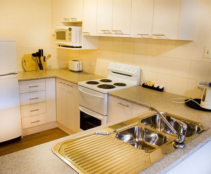 Kitchen of Spa Cottage One