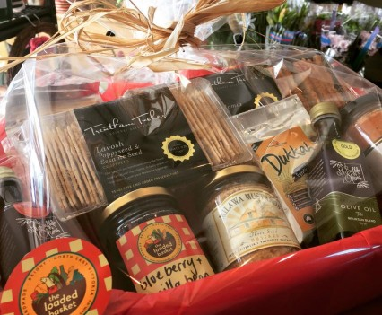 Local produce hampers