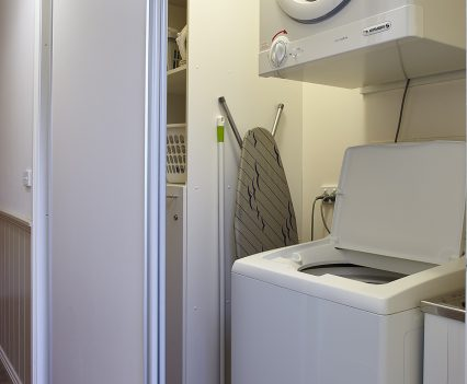 Self catering laundry facilities