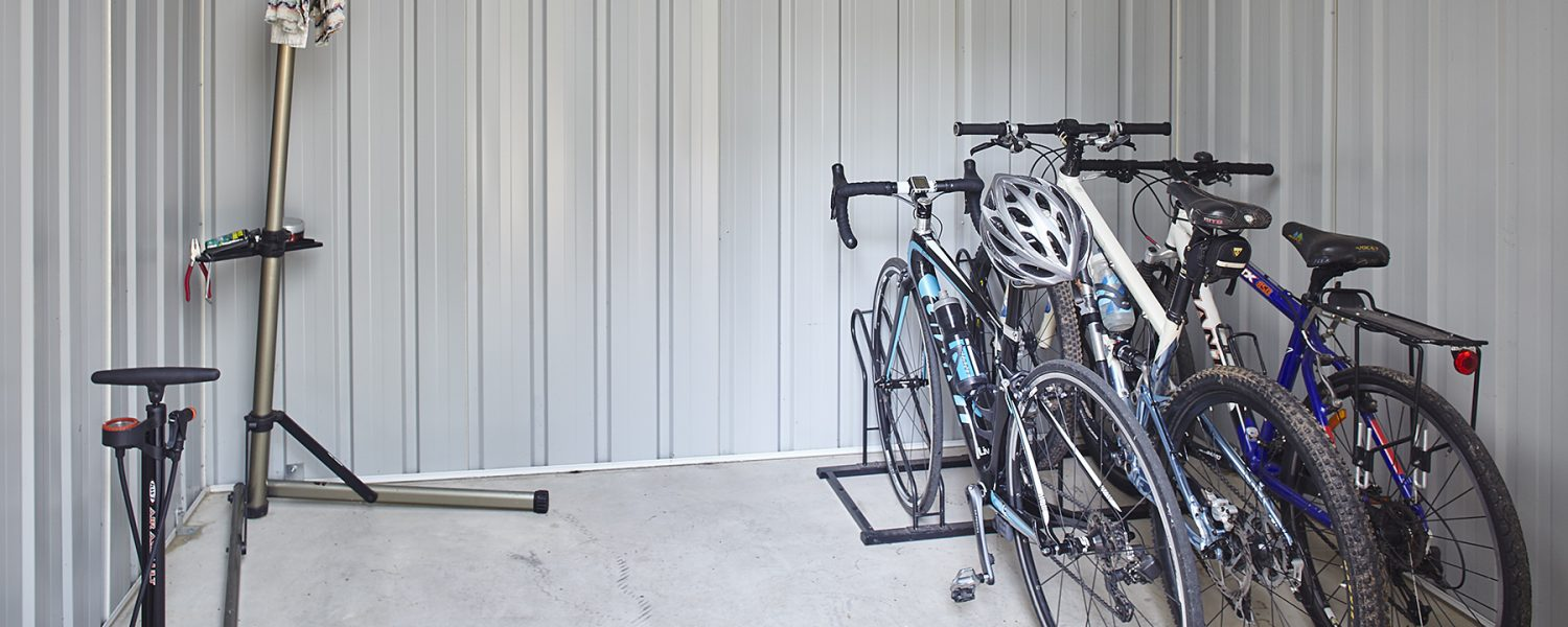 Bike storage and repair stand