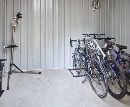 Bike storage and repair stand