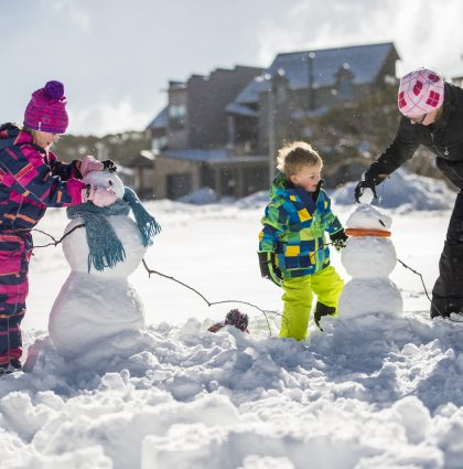 Snowplay in the High Country